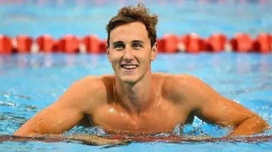 他是中国游泳队中人气最高的队员之一,也是这次奥运会的夺冠热门人选图片