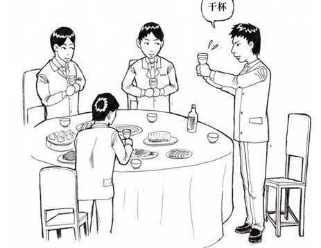 河南酒桌上的规矩,你是否因犯规而被喝趴过