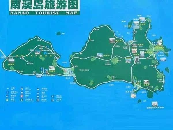 整个南澳岛瞬间萌翻天,手绘地图带你横行南澳岛,入驻最后一周