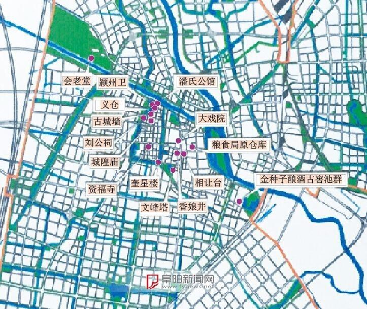 阜阳文峰塔等文物古迹将有城市紫线保护