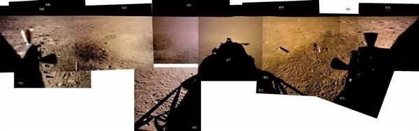 人类首次登月惊人照片公开 美国驳斥造假的照片 - 15