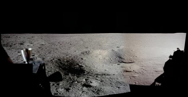 人类首次登月惊人照片公开 美国驳斥造假的照片 - 3