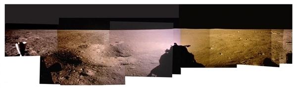 人类首次登月惊人照片公开 美国驳斥造假的照片 - 5