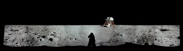人类首次登月惊人照片公开 美国驳斥造假的照片 - 9