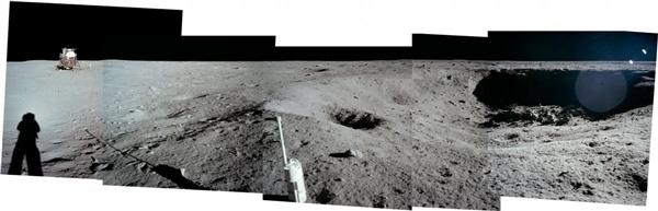人类首次登月惊人照片公开 美国驳斥造假的照片 - 10