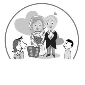 """老人们拍完婚纱照,还收到了社区为他们特制的""""圆梦结婚证"""",这张""""爱情"""
