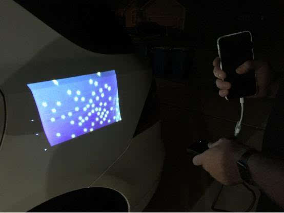 索尼老款便携式投影仪体验