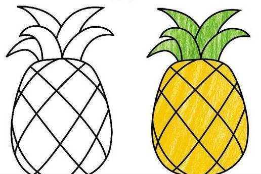柠檬简笔画图片大全