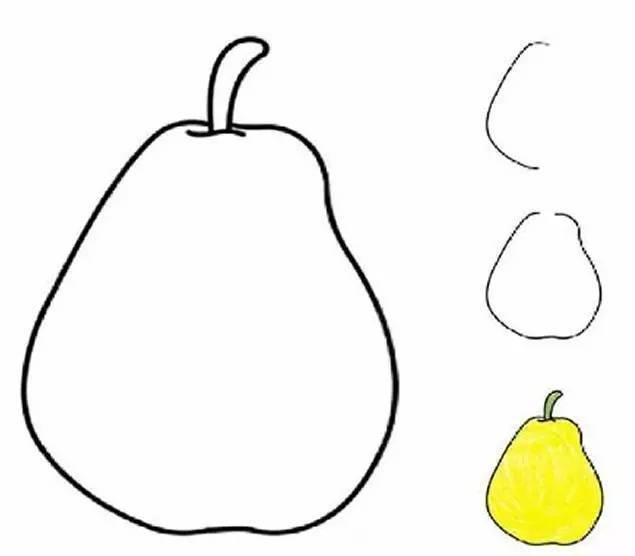 学,画一画,各种水果简笔画大全 为孩子收藏