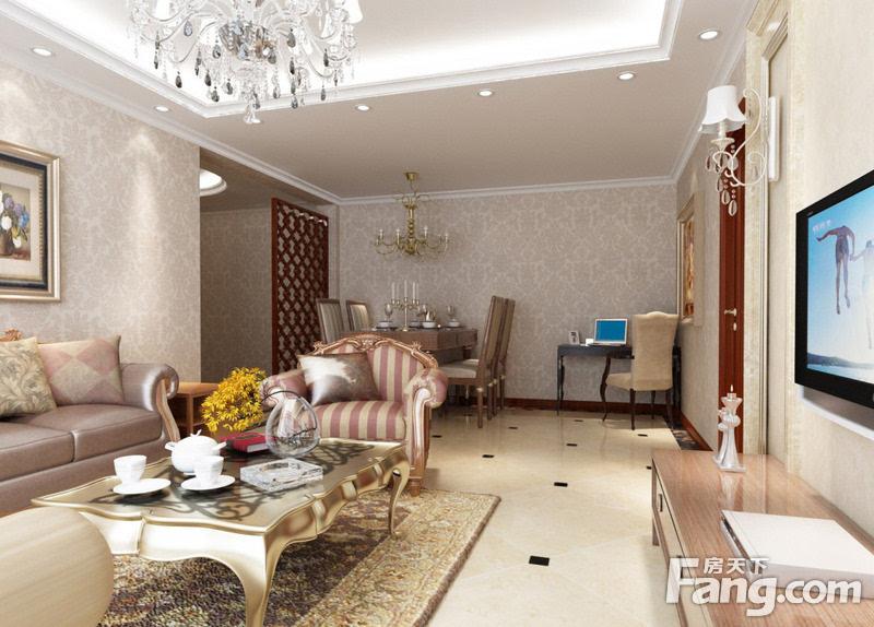 客厅贴什么颜色的壁纸好看 壁纸的图案介绍