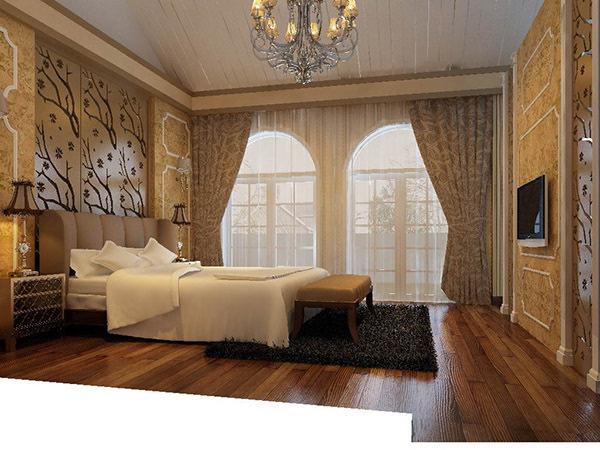 线条简洁的欧式布艺沙发展现现代风格