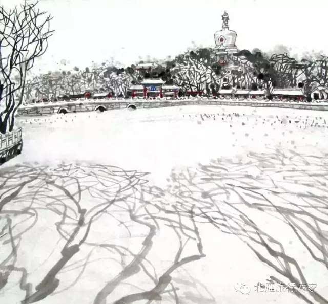 手绘北京丨京城的四季居然这么美