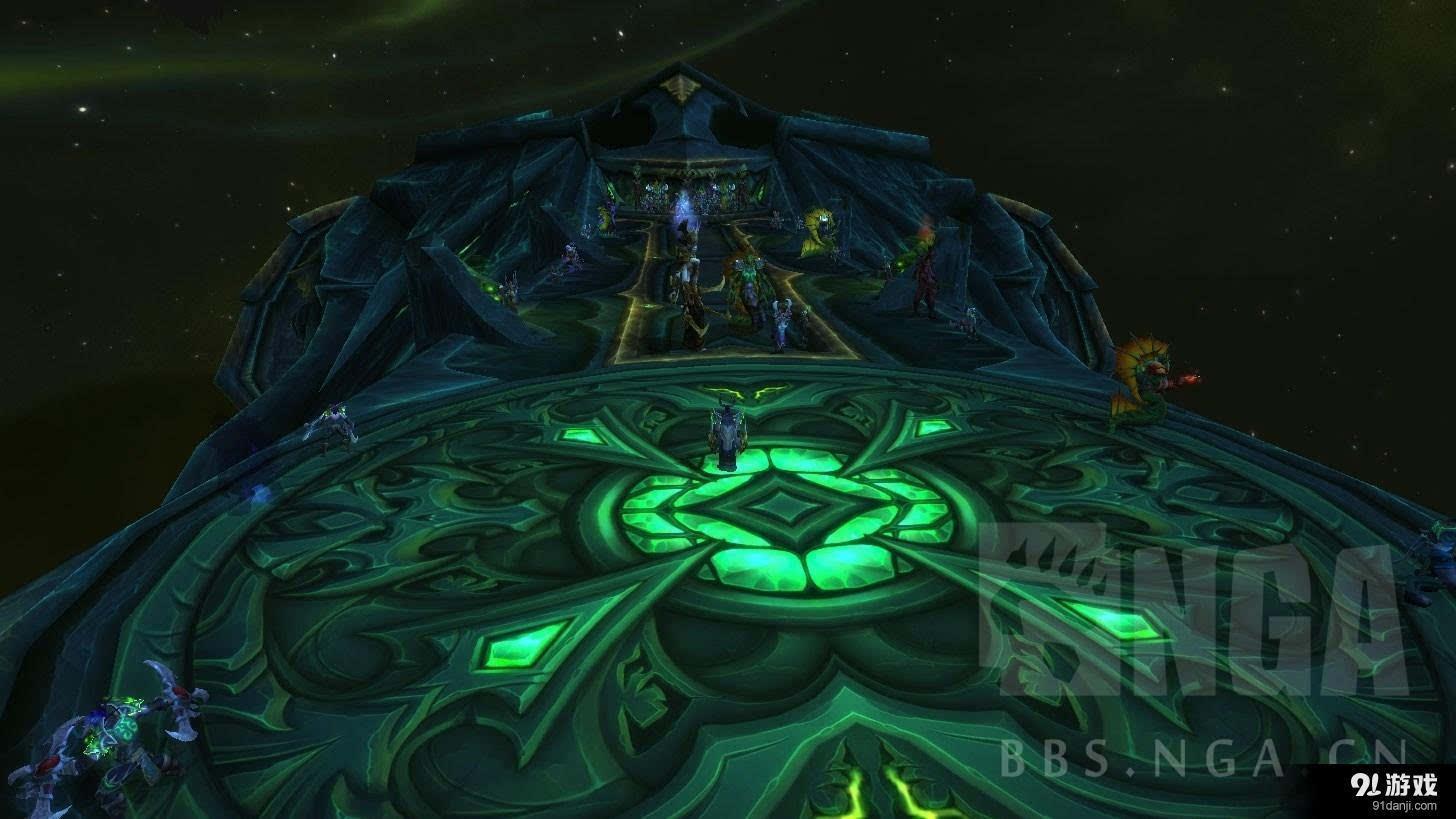 魔兽世界7.0恶魔猎手第三圣物插槽解锁方法