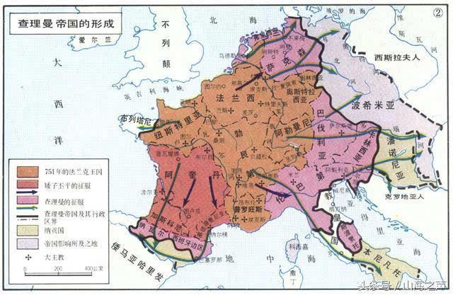 过的长期存在的大一统帝国是古罗马帝国,还主要是称霸环地中海地区,并图片
