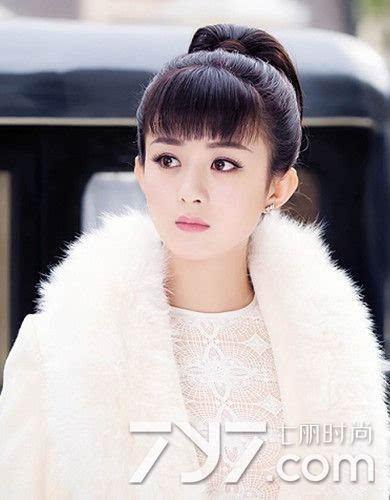 眉上刘海适合什么脸型 范冰冰赵丽颖蔡依林领街示范