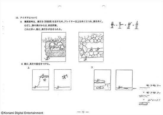 你从未见过的《魂斗罗》设计企划书:结尾有彩蛋的照片 - 20