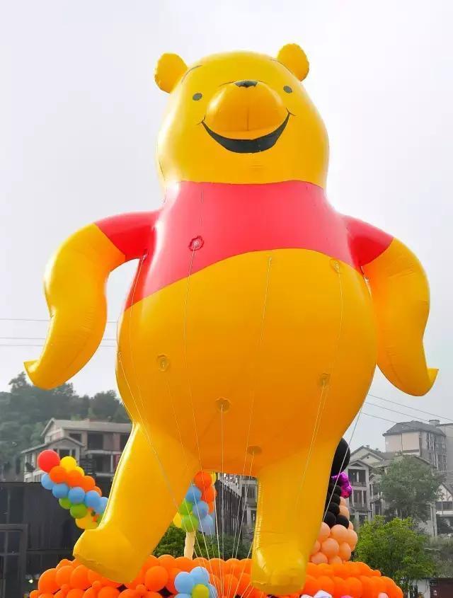 气球节以迪士尼动画明星为主角,包括热播电影《疯狂动物城》中的卡通