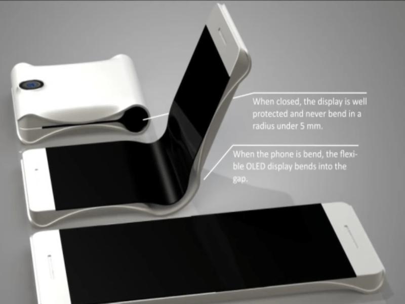 """三星:可折叠手机实现""""革命性""""才会发布的照片 - 2"""