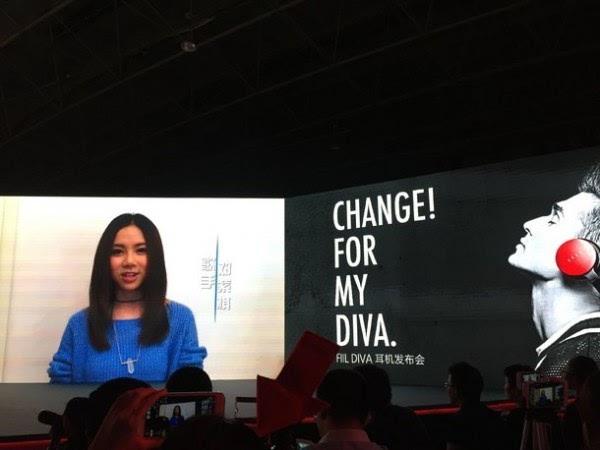 售价999元起:汪峰发布智能无线耳机DIVA 支持语音控制的照片 - 3
