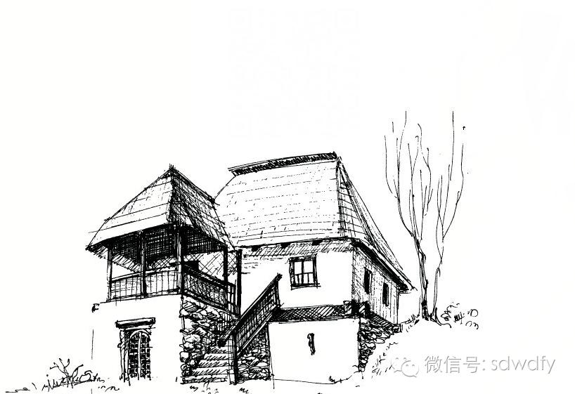 老房子(作者:闫梦彬)