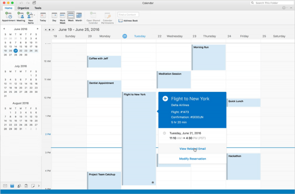 Office 2016 for Mac八月预览版(Version 15.25)发布的照片 - 1