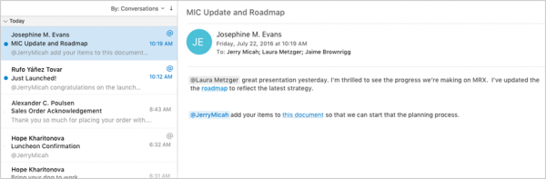 Office 2016 for Mac八月预览版(Version 15.25)发布的照片 - 2