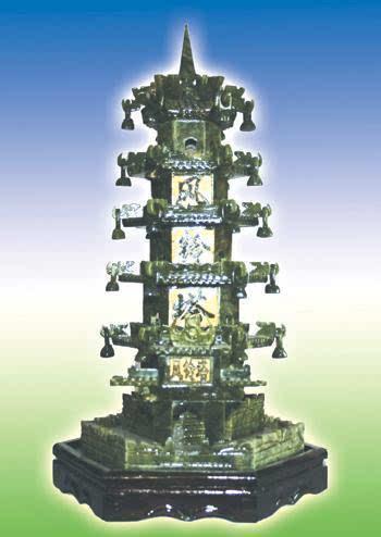 神奇的风铃塔