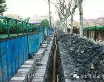 电力电缆线路敷设工程施工工艺