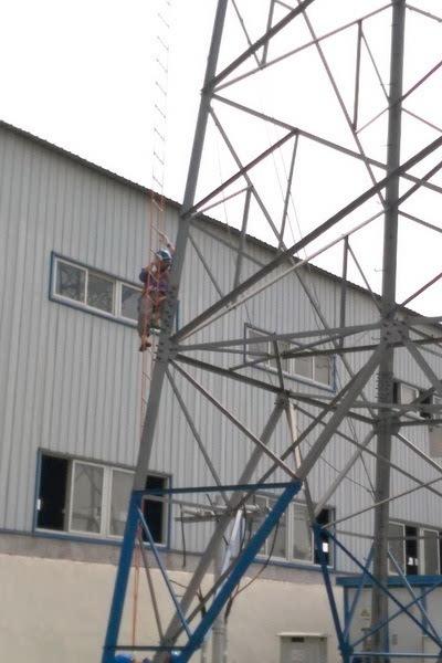 国网宝鸡供电公司开展带电作业取证事务