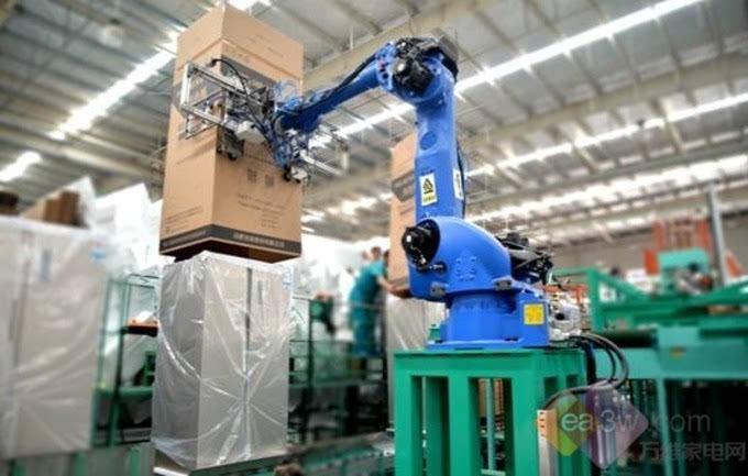 工厂作业指�9.i_构建数字化i 互联工厂美菱智能制造触发蝶变