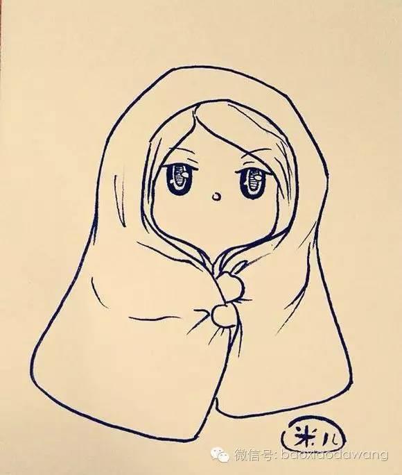 动漫 简笔画 卡通 漫画 手绘 头像 线稿 580_684