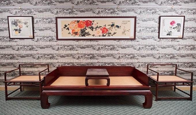 红木沙发结构制作图纸