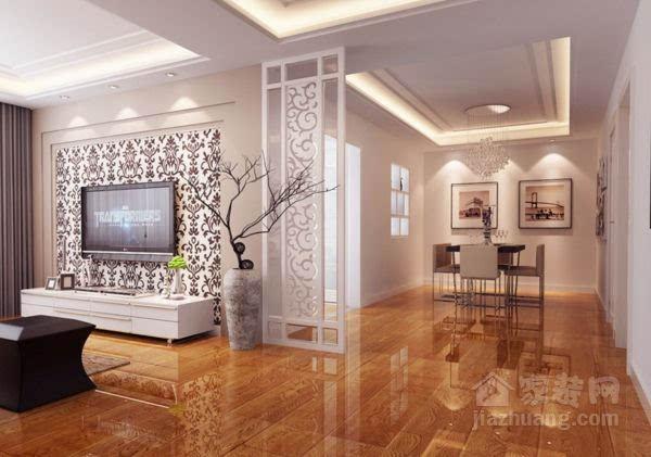 木地板,地砖或地毯的颜色都不可太深,玄关处如果没有室外的自然光,便