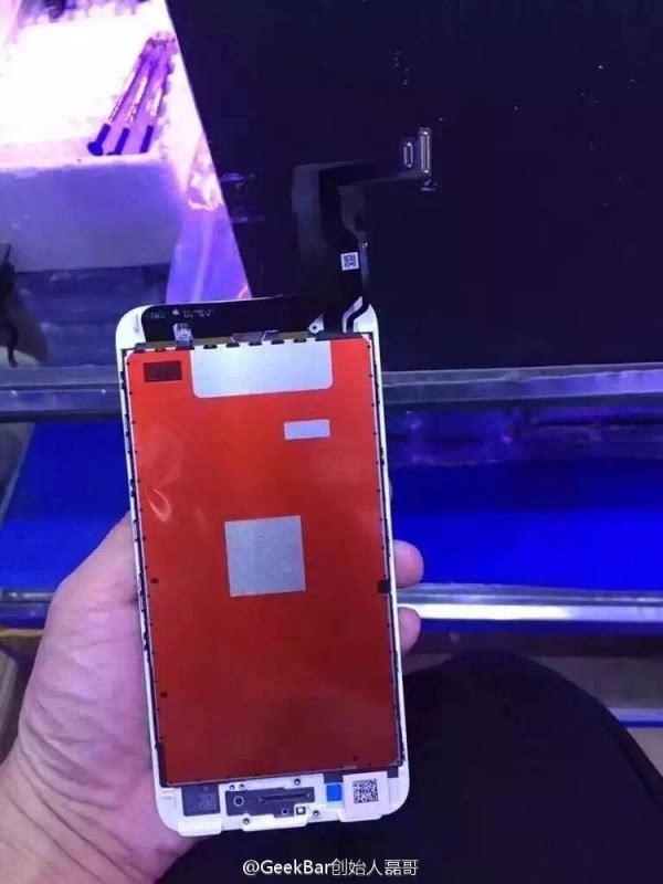iPhone 7工程机面板曝光:压感Home键有戏的照片 - 1