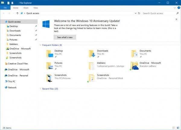 Windows 10 RedStone 2首个版本14901发布的照片 - 2