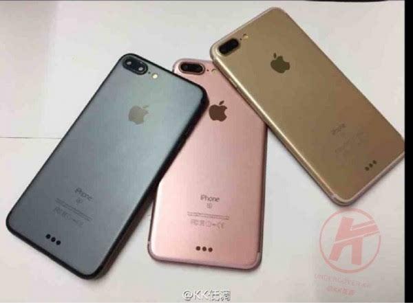 """iPhone 7″最新谍照曝光:海军蓝首度现身的照片 - 1"