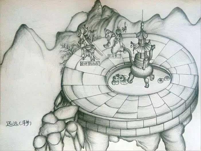 2016年7月份铅笔画(连载7)