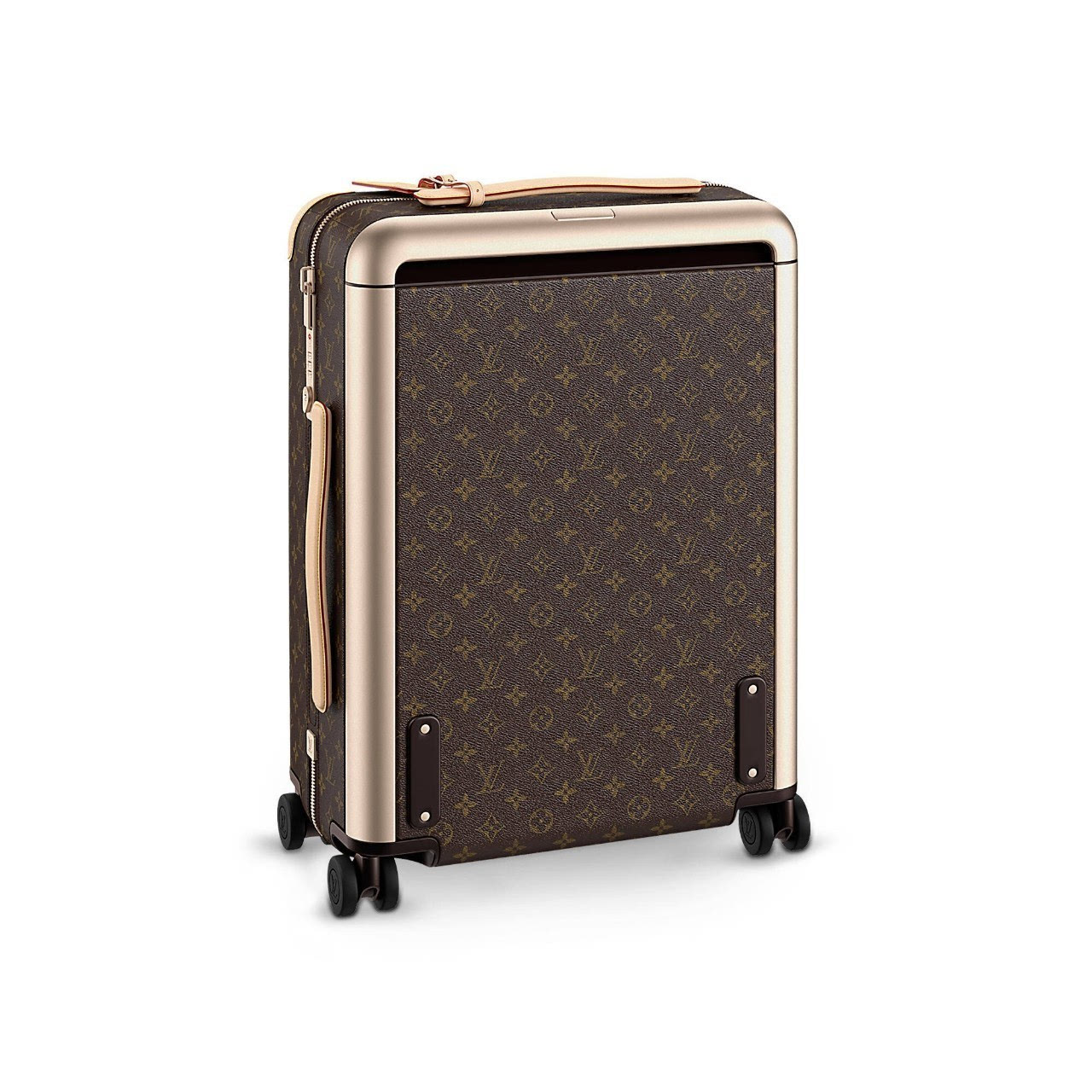 不像我们经常用的行李箱,伸缩拉杆会让箱子内部凹凸不平,这款整个箱子