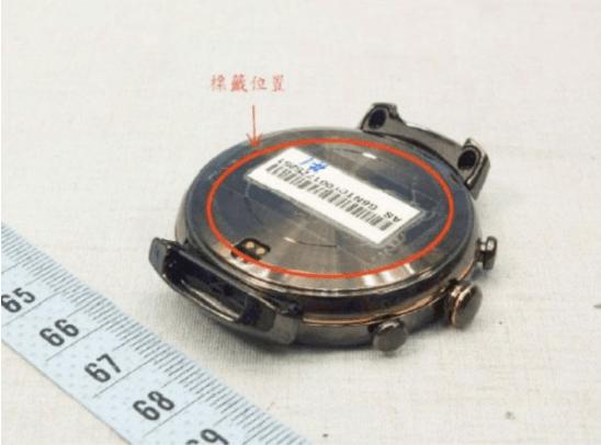 华硕智能手表ZenWatch 3曝光:不方了的照片 - 3