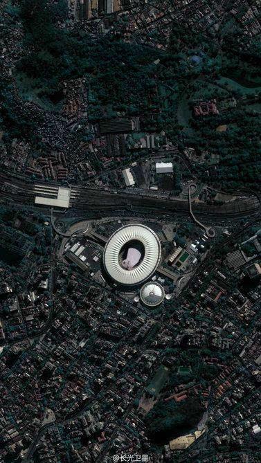 中国卫星在太空看里约奥运?意外发现航母