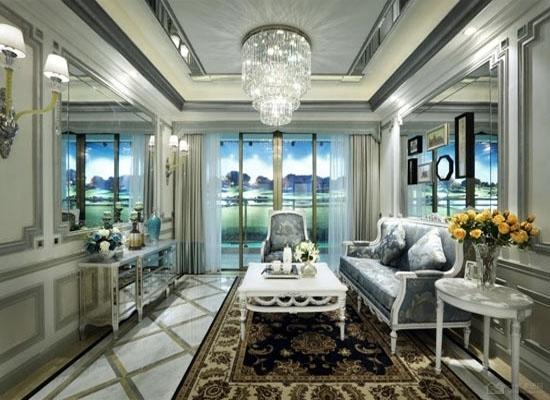 三居室欧式装修图片 展现欧式风格的奢华大气
