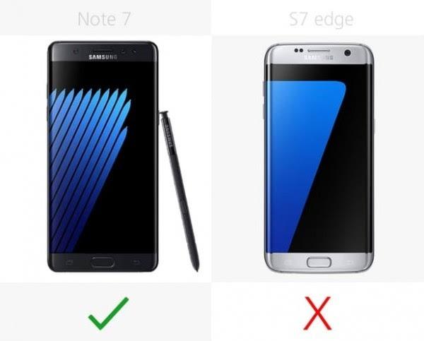 一脉相承的Galaxy Note 7/S7 edge,你会买谁?的照片 - 11