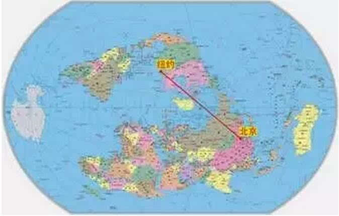 """"""" 一带一路"""" 在新编世界地图上的表述"""