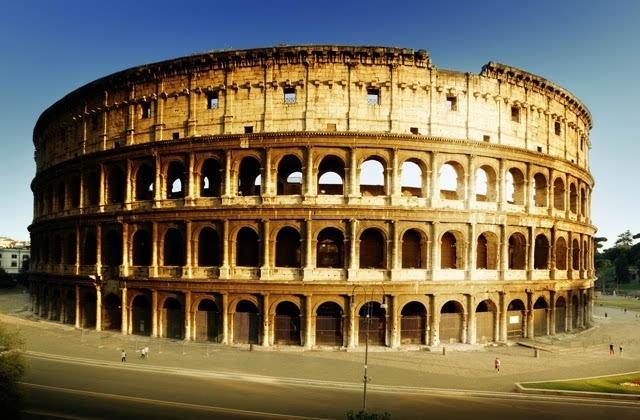 意大利古罗马斗兽场图片桌面壁纸下载