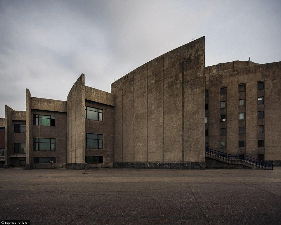 朝鲜建筑独特美:无广告 很清新