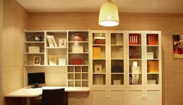 书桌书柜一体怎么样 书桌书柜一体尺寸价格