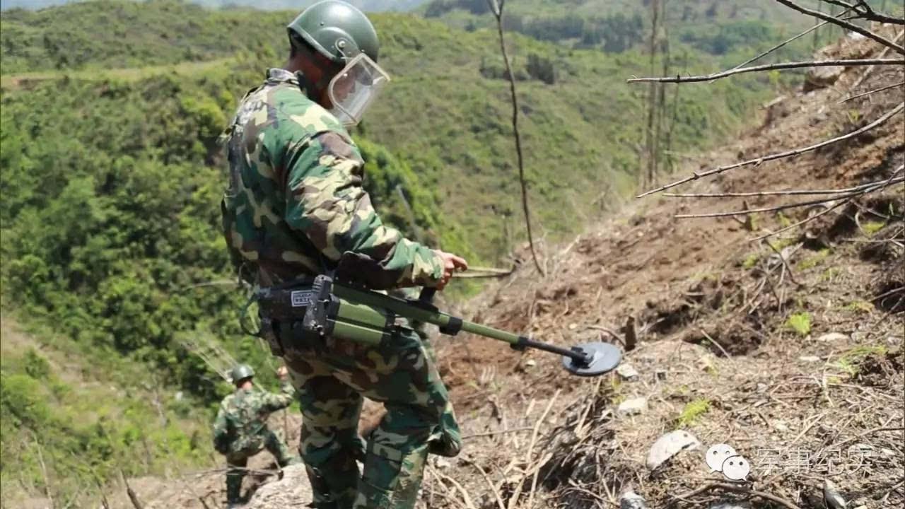 """对越自卫反击战的地雷战:越军误把我军地雷当成""""自己人"""""""