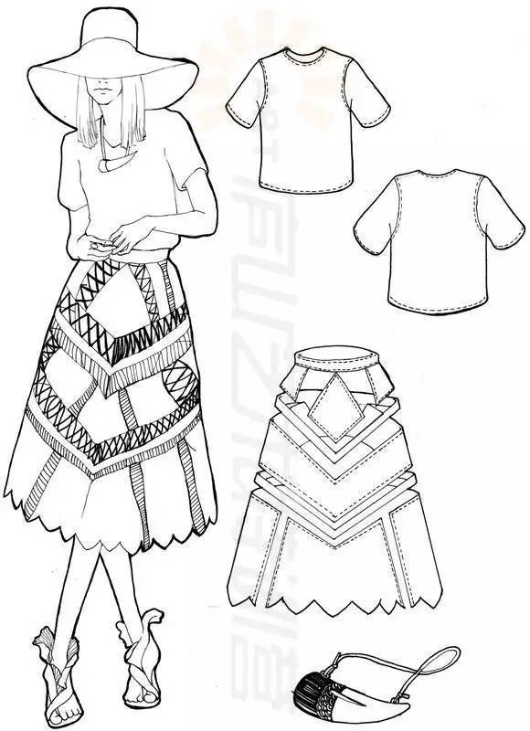 [特辑]庐山艺术特训营23期服装手绘班