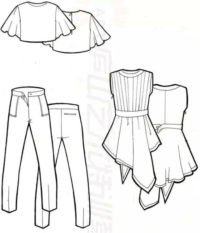 23期特训服装设计班主要课程为服装整体概述,人体结构,骨骼结构,服饰