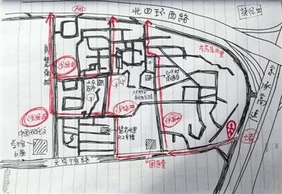 快递员手绘地图:比导航牛